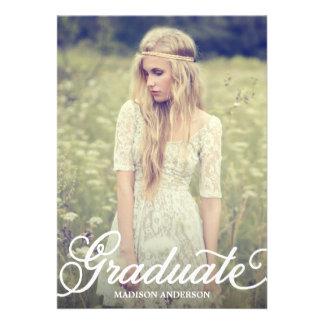 Bold Script 2 | 2014 Graduation Party Invitation