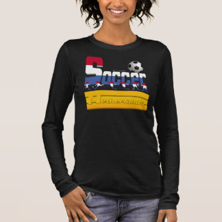 Bold Soccer Dutch Ladies Long Sleeve Shirt