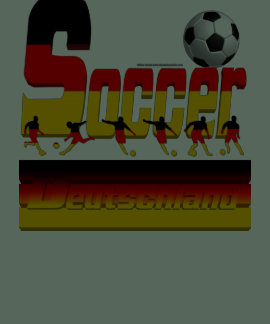 Bold Soccer German Men's Poly-Cotton T-Shirt