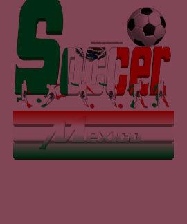 Bold Soccer Mexico Ladies Crew T-Shirt