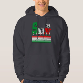 Bold Soccer Mexico Men's Hoodie