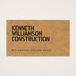 Chipboard business cards templates zazzle bold stenciled particle board construction business card colourmoves