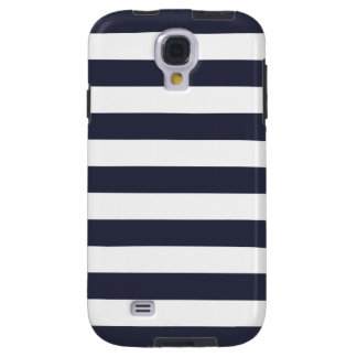 Bold Stripe Galaxy S4 Case in Navy Blue
