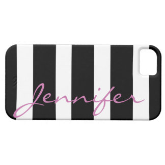 Bold Striped iPhone 5 Barely There Case | Black iPhone 5 Covers