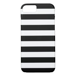 Bold Stripes Black and White iPhone 7 case