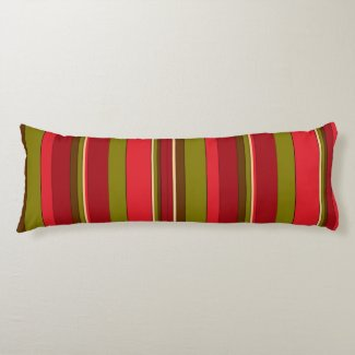 Bold Stripes Body Pillow