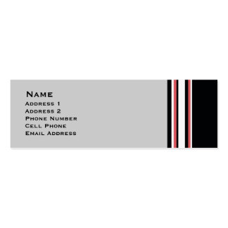 Bold Stripes Business Card Templates