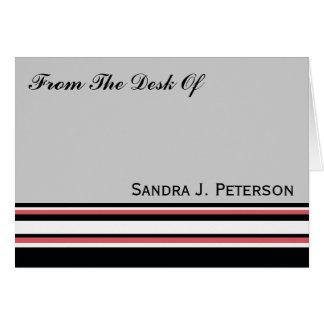 Bold Stripes Card