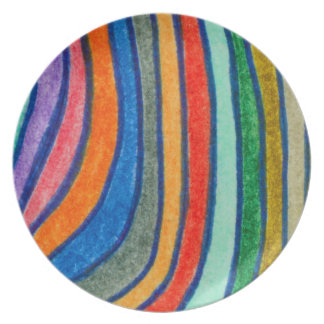 Bold Stripes Dinner Plate