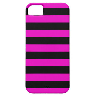 Bold Stripes iPhone 5 Cases - Shocking Pink