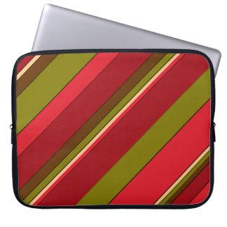 Bold Stripes Laptop Sleeves