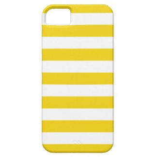 Bold Stripes Lemon Zest iPhone 5 Case