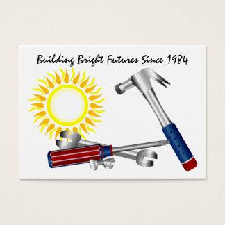 Bold Sun Business Card by SRF