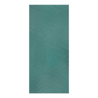 Bold Teal Green Rack Card