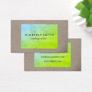 Bold Texture Business Card