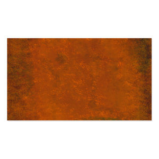 Bold textured copper look business card