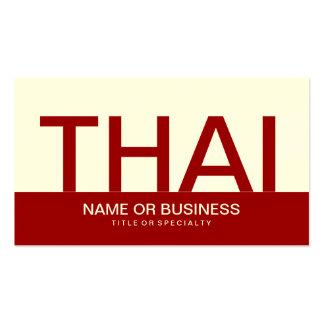 bold THAI (color customizable) Business Card