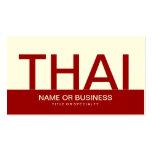 bold THAI (color customizable) Business Card Template
