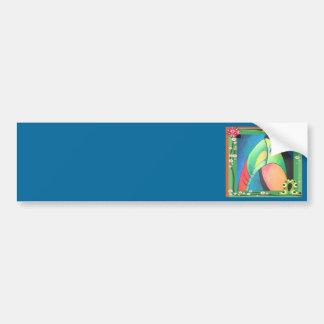 Bold Toucan Car Bumper Sticker