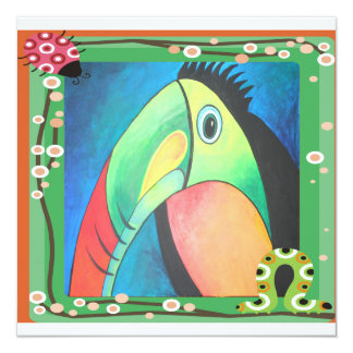 Bold Toucan Custom Invite