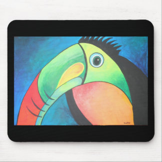 Bold Toucan Mouse Pad
