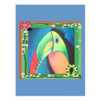 Bold Toucan Post Card