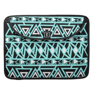 Bold Tribal Turquoise MacBook Pro Sleeve