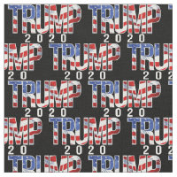 Bold Trump 2020 Pattern Fabric