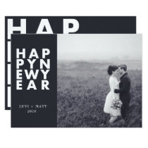BOLD TYPE-NEW YEAR CARD