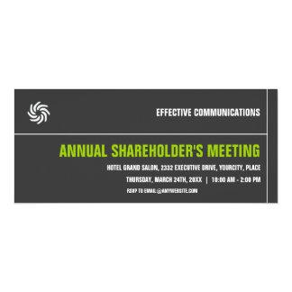 Bold Typographic Corporate Event Invitation