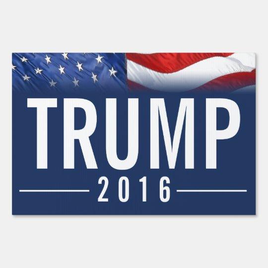 Bold Vote Donald Trump 16 Yard Sign Zazzle Com
