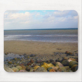 Boldered Beach Mouse Pad