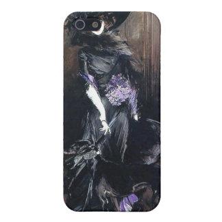 Boldini greyhound lady dog case for iPhone SE/5/5s