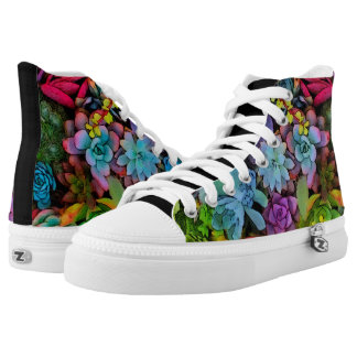 Boldly Go Succulents High-Top Sneakers