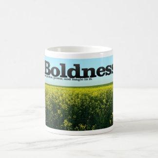 Boldness Motivational Mug