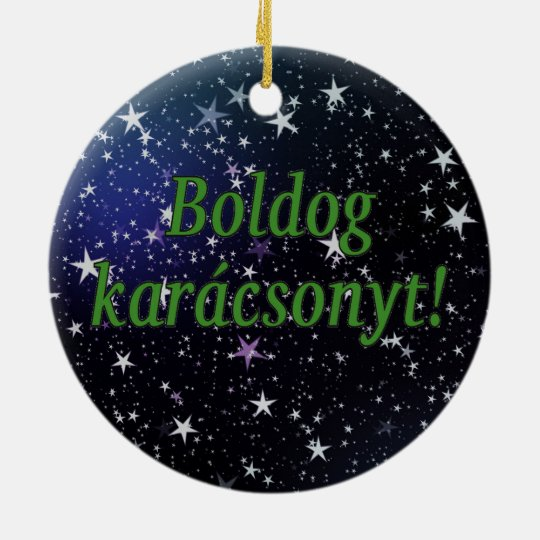 merry christmas in hungarian