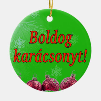 Hungarian Language Ornaments & Keepsake Ornaments | Zazzle