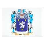 """Boldt Coat of Arms 5"""" X 7"""" Invitation Card"""