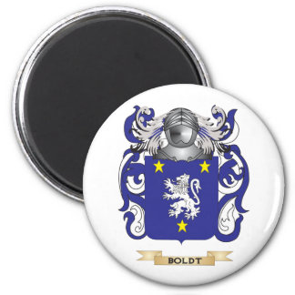 Boldt Coat of Arms (Family Crest) 2 Inch Round Magnet