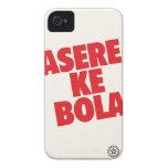 Boleadoras de Asere KE Case-Mate iPhone 4 Protectores