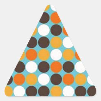 boleadoras de COM del padrão Pegatina Triangular
