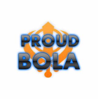 Boleadoras orgullosas, orgullo de las boleadoras fotoescultura vertical
