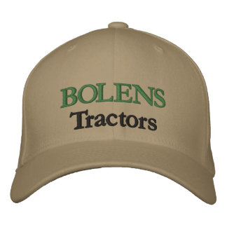 Bolens Tractors Lawnmowers Mowers Husky Design Embroidered Baseball Hat