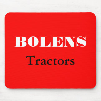 Bolens Tractors Lawnmowers Mowers Husky Design Mouse Pad