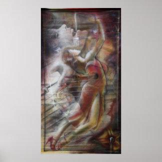 Bolero, Boléro print poster pressure women paintin