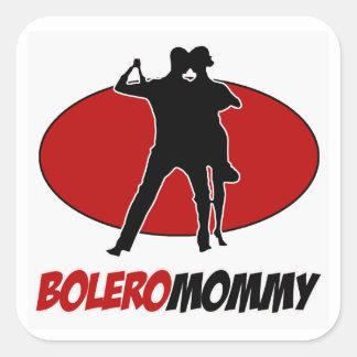 bolero DANCE DESIGNS Square Sticker