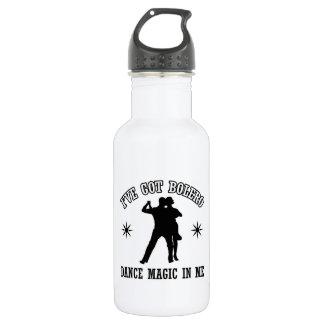 bolero Dance Designs Water Bottle