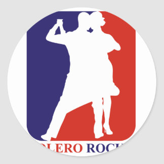 Bolero Rock Classic Round Sticker
