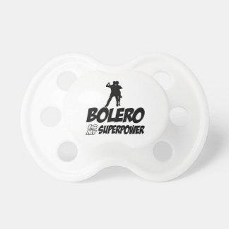 Bolero Superpower Designs Pacifier