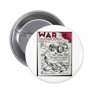 Boletín educativo de la guerra - 45 pin